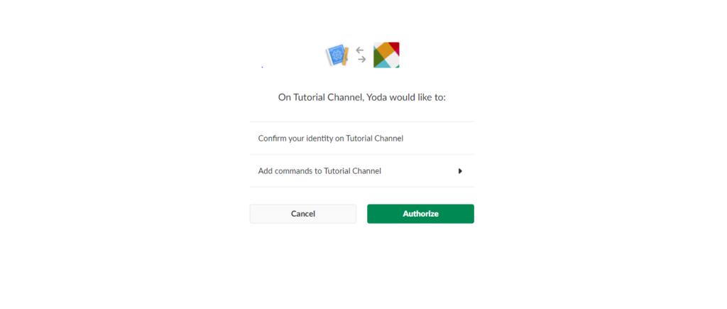 Slack - Yoda Speak API